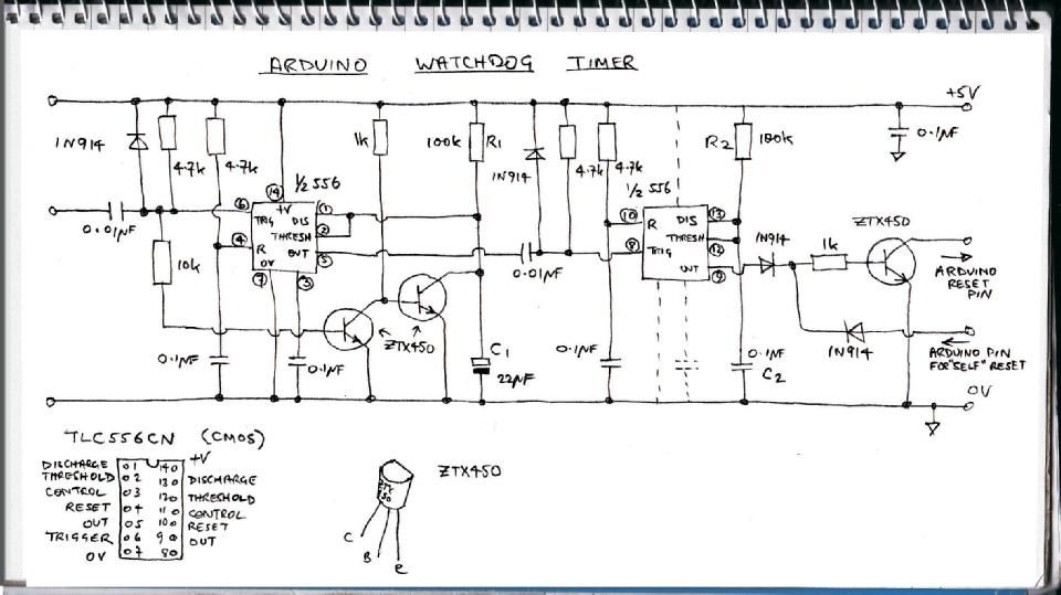 arduino watchdog timer